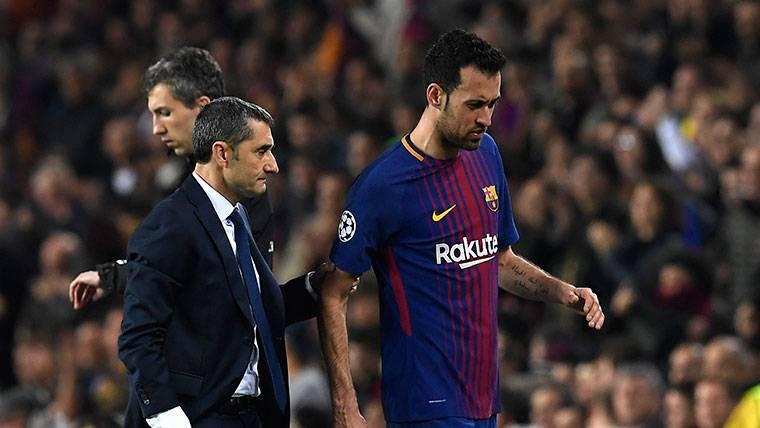 ¡Grandes noticias sobre la lesión de Sergio Busquets!