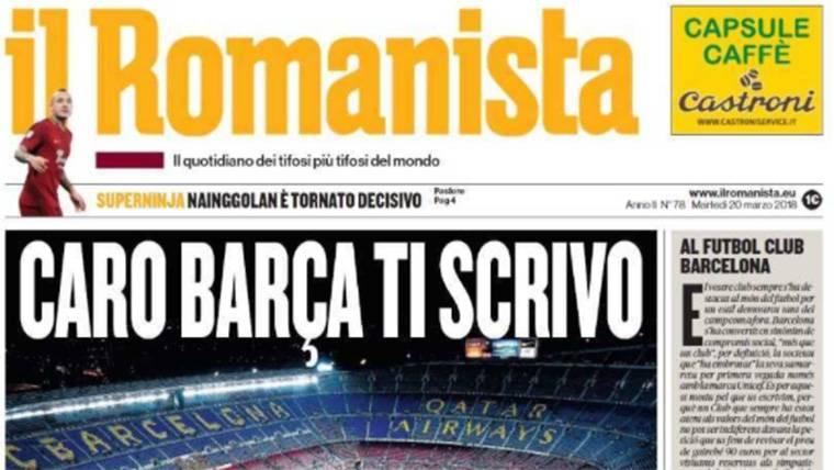 Carta abierta por el precio de las entradas del Barça-Roma