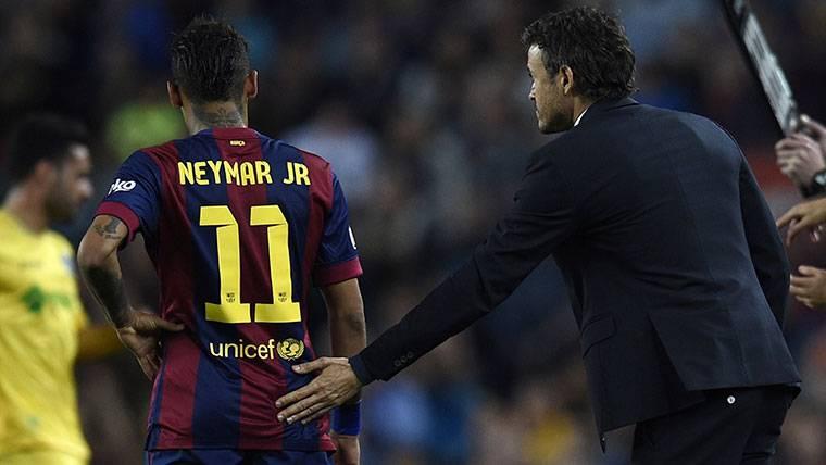 ¿Ha aconsejado Neymar Jr al PSG que fiche a Luis Enrique?
