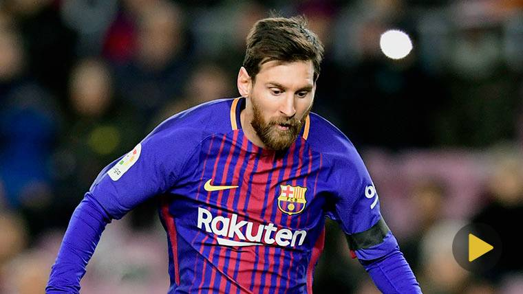 VIRAL: El espectacular regate de Leo Messi... ¡Con el hombro!