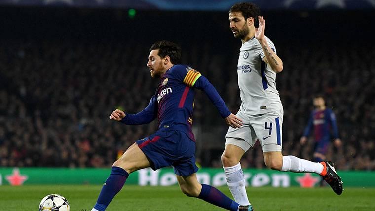 La curiosa anécdota entre Leo Messi y Cesc Fábregas