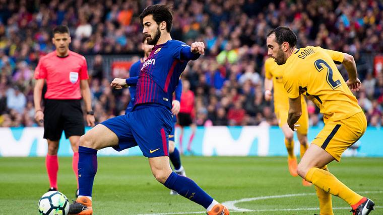 André Gomes, clave en el Barça para la 'Operación Griezmann'