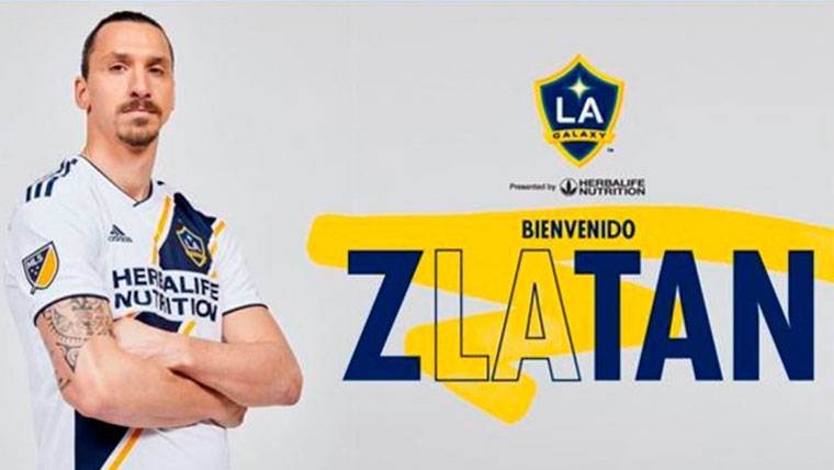 Chulería de Ibrahimovic para anunciar su llegada a Los Ángeles