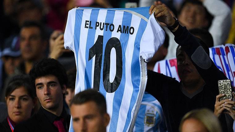 Los jugadores de España quieren a Messi contra Argentina