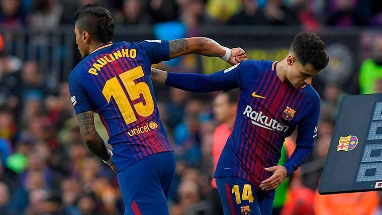 """Paulinho y Coutinho, """"libertad"""" y """"polivalencia"""" para el Barça"""