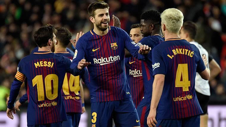 Piqué y Rakitic ganan enteros para ser capitanes del Barça