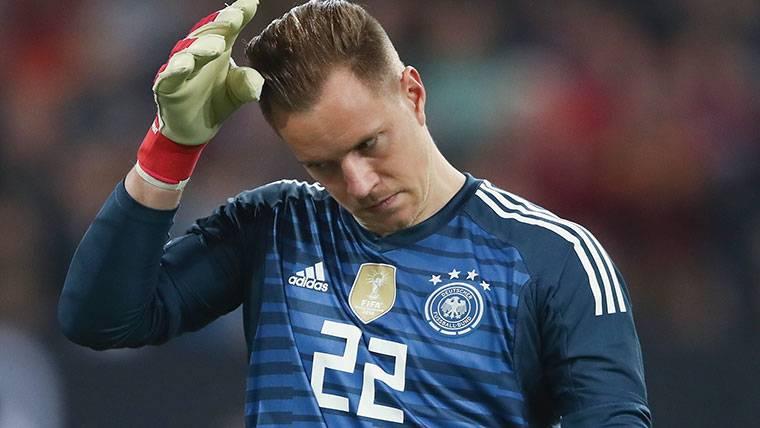 ¡Ter Stegen tiene molestias y se pierde el Alemania-Brasil!