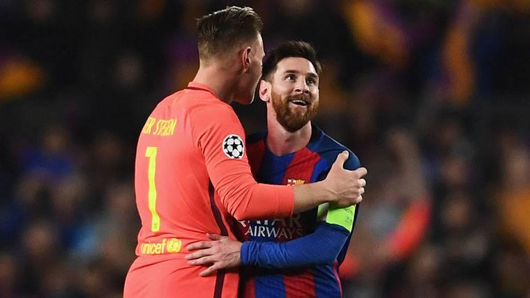 Pruebas médicas para Messi y Ter Stegen el jueves con el Barça