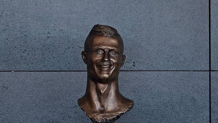 Un año después del fenómeno viral, ya hay otro busto de Cristiano Ronaldo