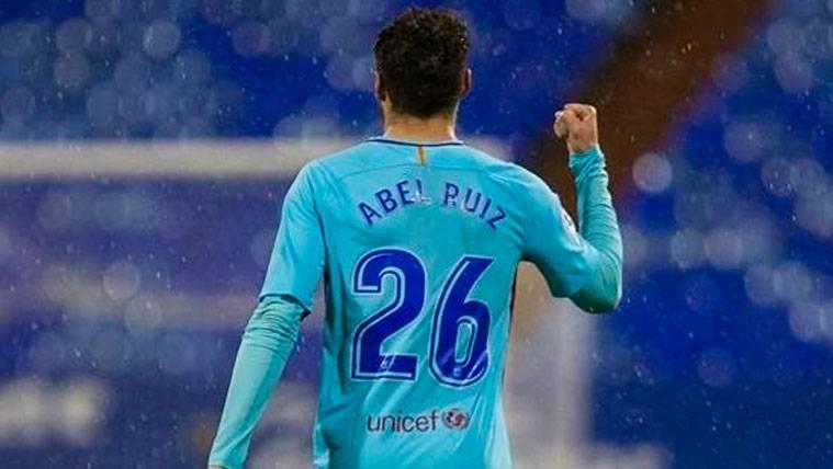 Abel Ruiz estaría a punto de renovar con el FC Barcelona