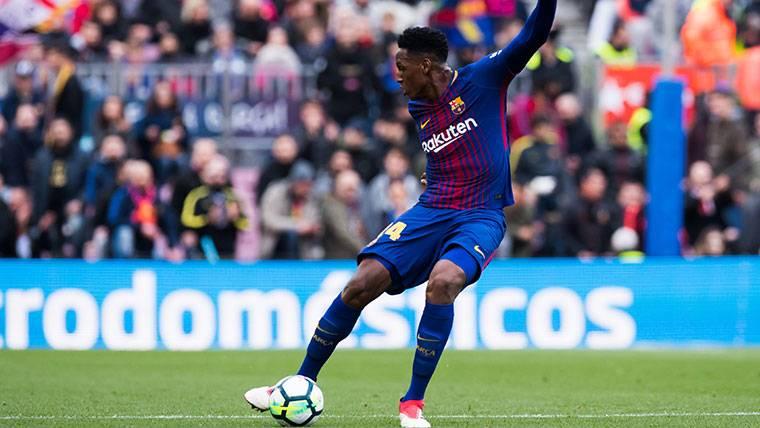 Yerry Mina se queda fuera pese a su buen nivel con Colombia