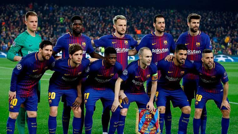 ¡Control antidopaje al once del Barça que jugó ante el Chelsea!