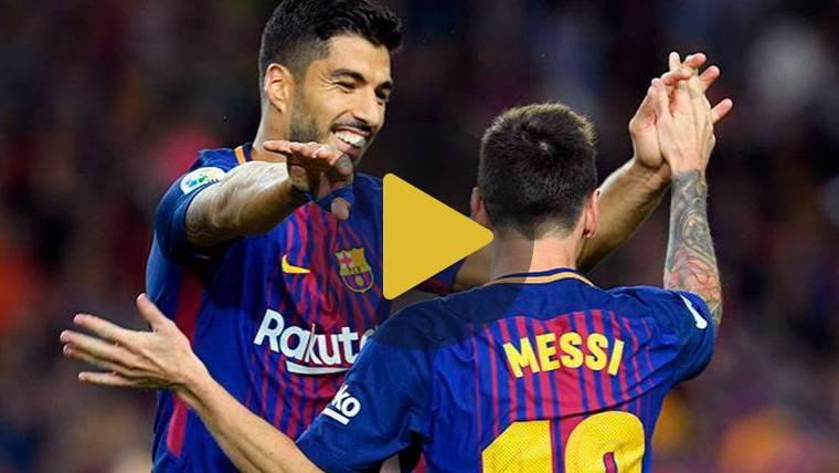 Vídeo resumen: Sevilla 2 FC Barcelona 2 (LaLiga J30)