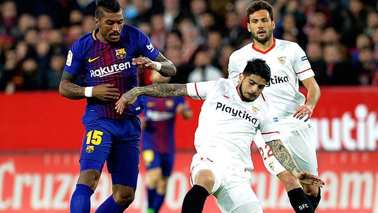 Primeras críticas a Paulinho, en baja forma con el Barcelona