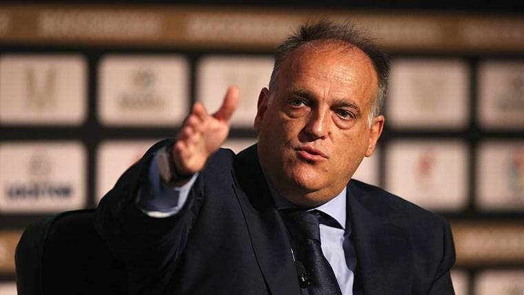 Explosivas palabras de Tebas: insinúa que habría que sancionar al Barça