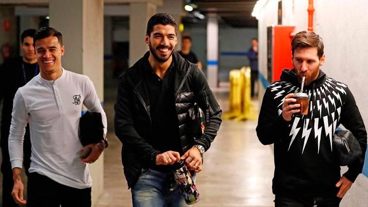 Coutinho deja claro quiénes son sus mejores amigos en el Barça