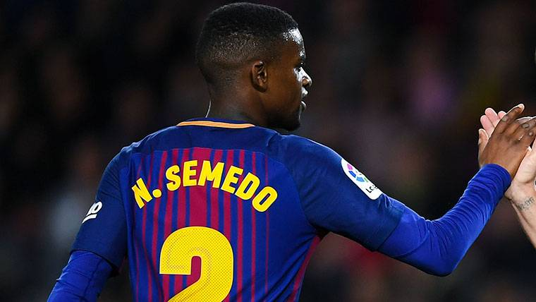 Nelson Semedo tiene grandes opciones en Champions League
