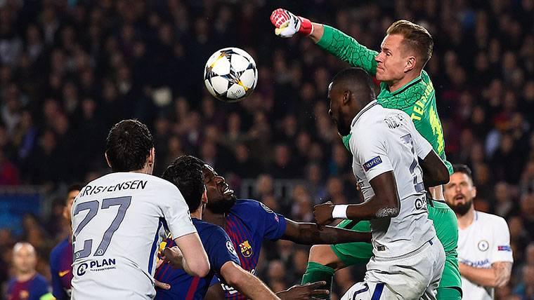Ter Stegen, clave para guiar al Barça a 'semis' de Champions