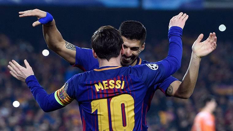 Leo Messi y Luis Suárez, la mejor dupla goleadora de 2018