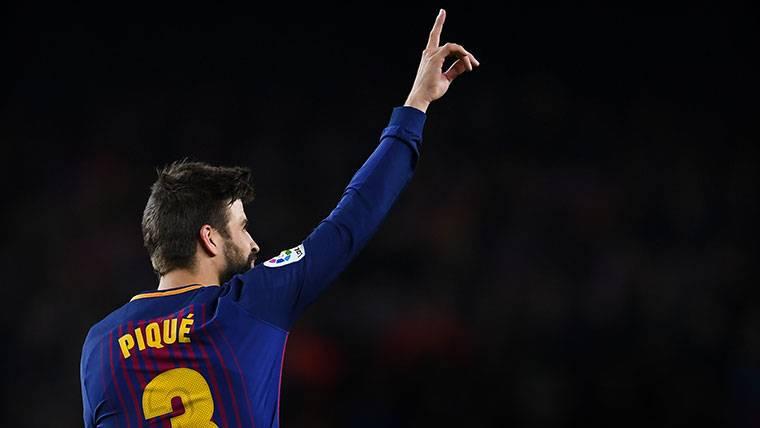 Gerard Piqué, goleador inesperado ante la Roma en Champions League