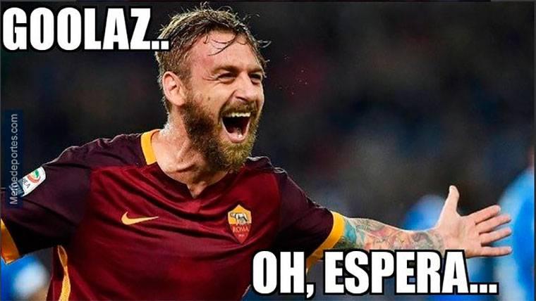 Estos son los mejores 'memes' del FC Barcelona-AS Roma