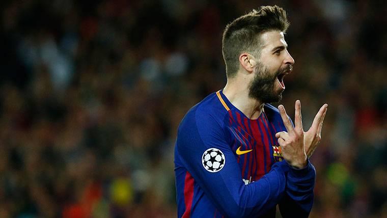 Gerard Piqué hace historia en Champions y advierte al Barça