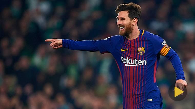 VIRAL: La respuesta de la afición a Cristiano: Un montaje con tres chilenas de Messi
