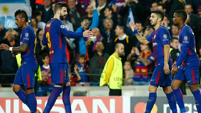 Tres jugadores del Barça en el XI ideal de la jornada de Champions