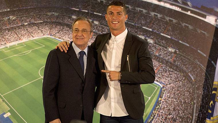 Ni siquiera la chilena salva a Cristiano Ronaldo de las dudas de Florentino Pérez