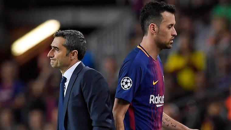 Máxima precaución en el Barça con los dolores de Busquets