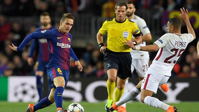 Denis Suárez vuelve a asomar la cabeza en el Barça de Valverde