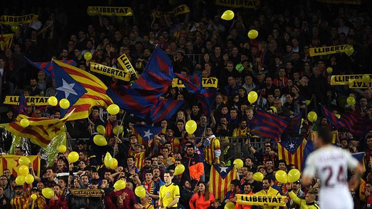 El Barça confía en evitar una sanción en la Champions League
