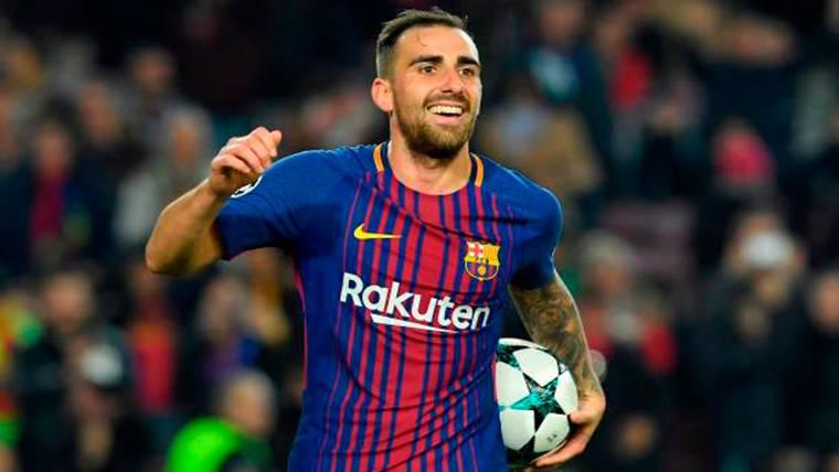 Paco Alcácer, tentado por el Southampton para salir del Barça