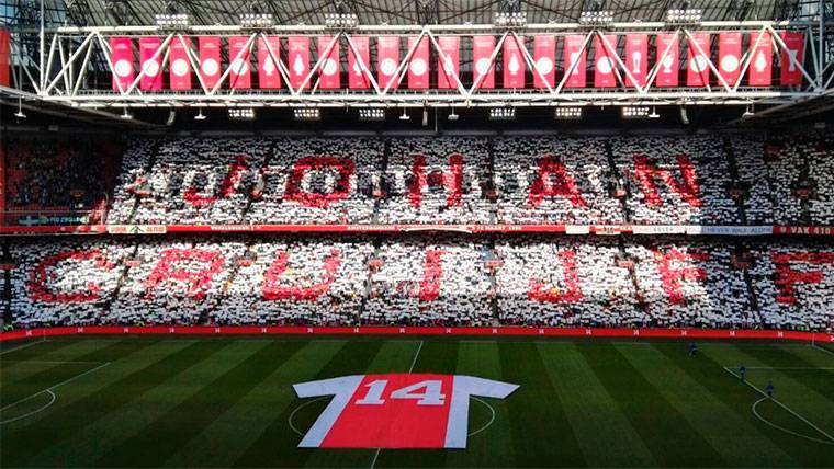 El Ajax cumple con su palabra: su estadio será el Johan Cruyff Arena