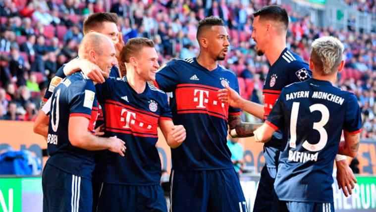 El Bayern de Múnich gana la Bundesliga por sexto año consecutivo