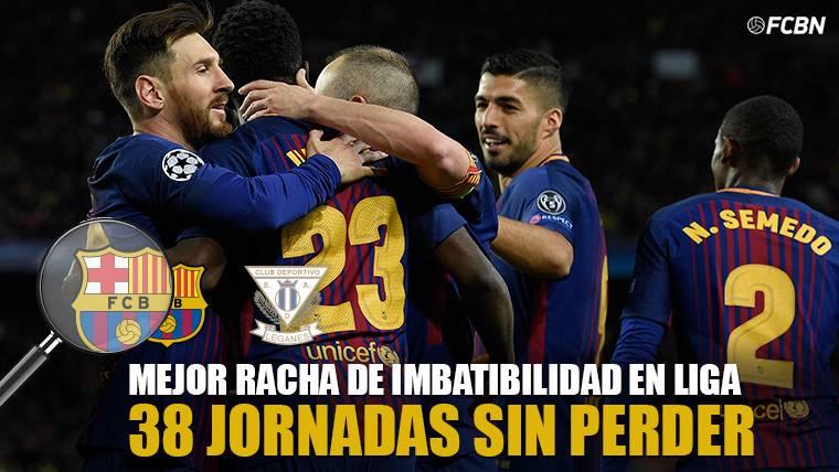 El FC Barcelona iguala el récord absoluto de LaLiga: 38 jornadas seguidas sin perder