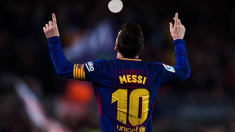 Hat-trick de Messi que catapulta al Barça y huele a Bota de Oro