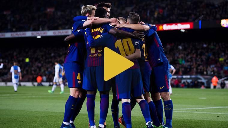 Vídeo resumen: FC Barcelona 3 Leganés 1 (LaLiga J31)