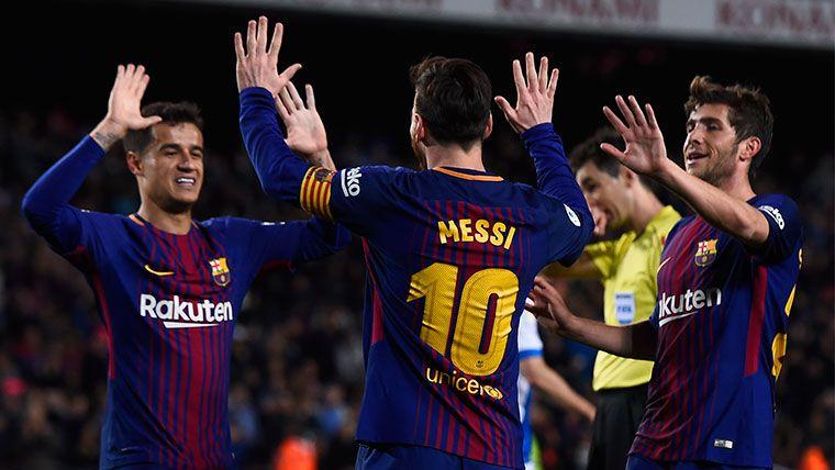 Coutinho-Messi, una conexión brillante para el FC Barcelona