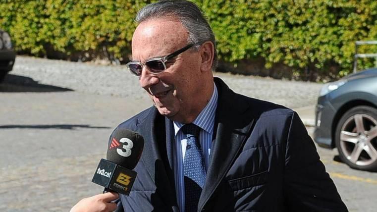 Gaspart ningunea a Zidane y asegura que la decisión de negar el pasillo viene del Madrid