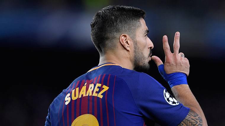 El gran reto de Luis Suárez en el partido de vuelta contra la Roma