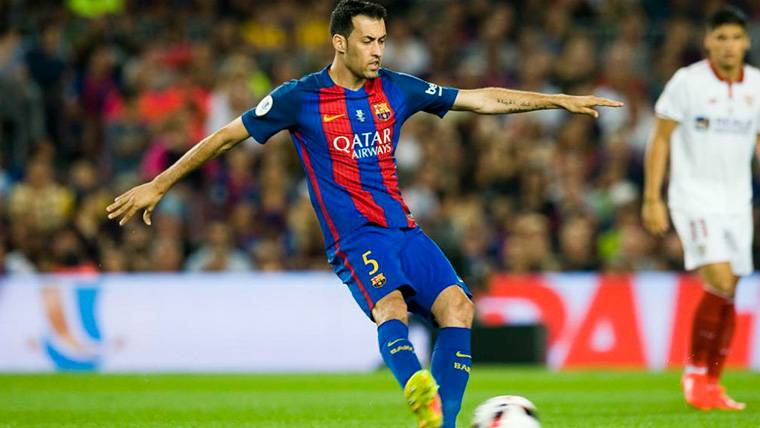 RIESGO: Busquets volvería a infiltrarse para el Roma-Barça