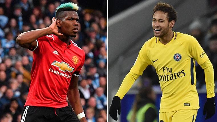 Pogba pone una condición a su fichaje por el PSG: Que se quede Neymar
