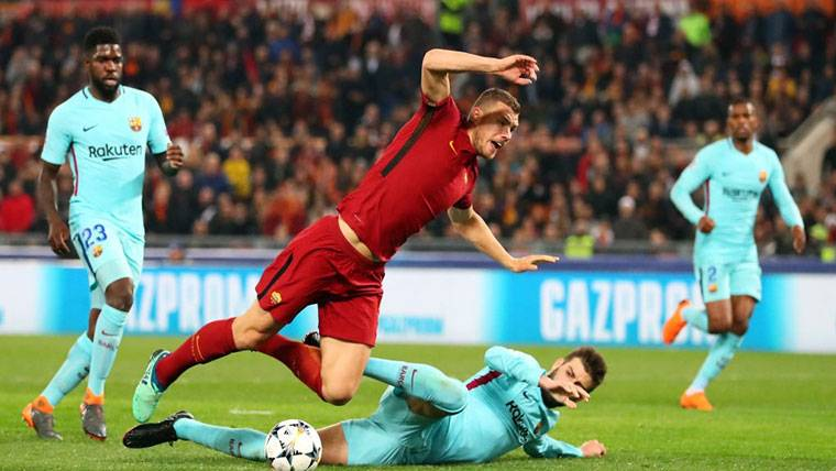 Los principales señalados de la debacle del Barcelona en Roma