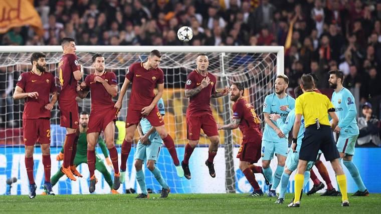 La prueba de que al Barça le faltó mentalidad ganadora en Roma