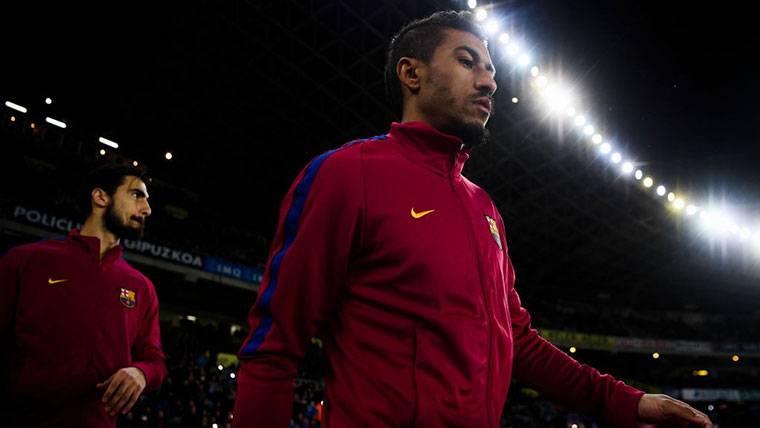 Paulinho, colapsado con el Barça en la fase decisiva del curso