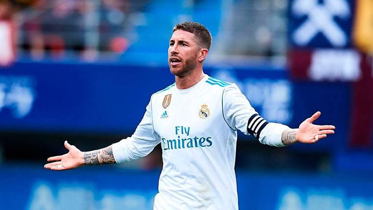 Sanción a Sergio Ramos: se perdería la ida de las semifinales