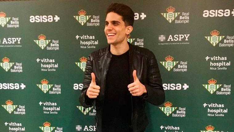 Marc Bartra se pronuncia sobre el futuro de Ousmane Dembélé y Andrés Iniesta