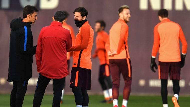 ¿Hubo bronca entre Messi y Valverde tras el Roma-Barça?