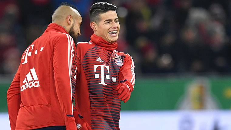 James Rodríguez será protagonista en el Bayern-Real Madrid